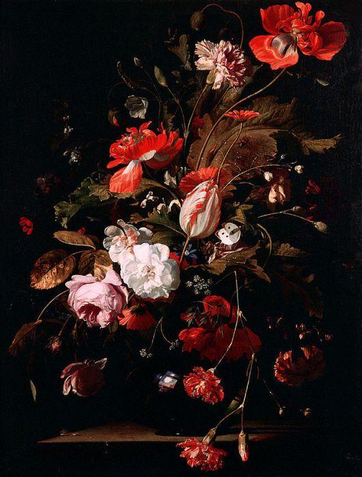 Willem van Aelst - Bloementuil 17th century {{PD}}