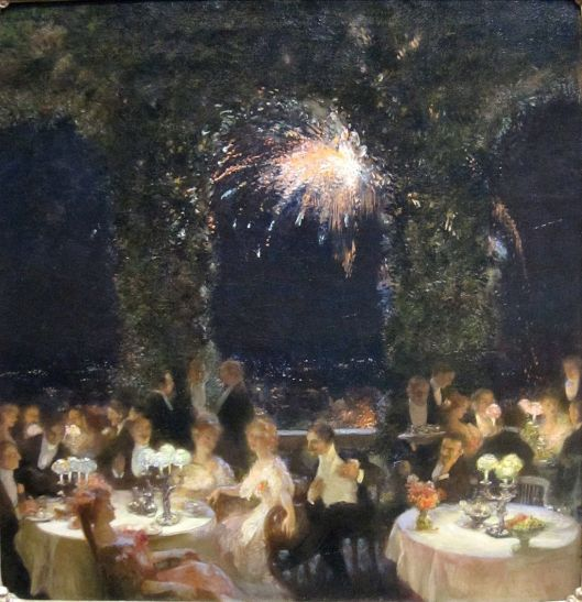 'Dinner at the Casino' by Gaston La Touche 1902 {{PD}}