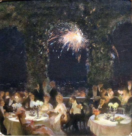 'Dinner at the Casino' by Gaston La Touche 1902 {{PD}}
