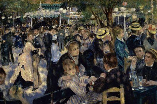 'Bal du moulin de la Galette' Renoir 1876 {{PD}}