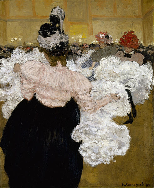 'At the Moulin Rouge' Henri Evenepoel 1897 {{PD}}