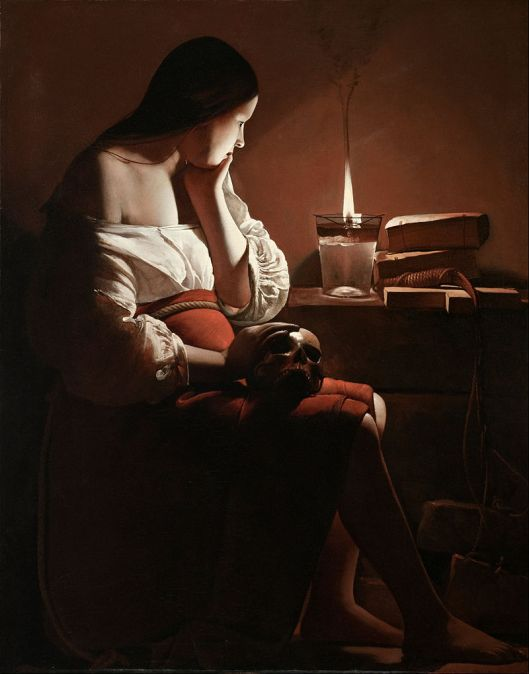 Choices may not be easy this year, dear Cancer. 'The Magdalen with the Smoking Flame' Georges de la Tour c1640 {{PD}}