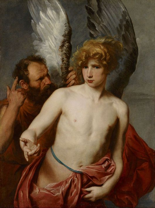 Anthony van Dyck - Daedalus and Icarus c1620 {{PD}}
