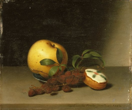 Still Life with Cake - Raphaelle Peale c1822 {{PD}}