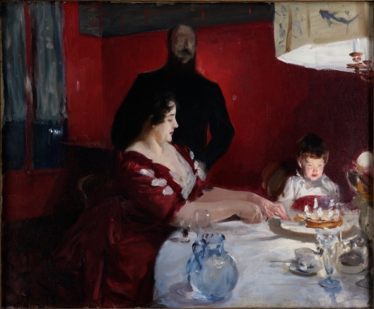 Birthdays do seem to be a time when we think about what we want and need. 'The Birthday Party' John Singer Sargent 1887 {{PD}}