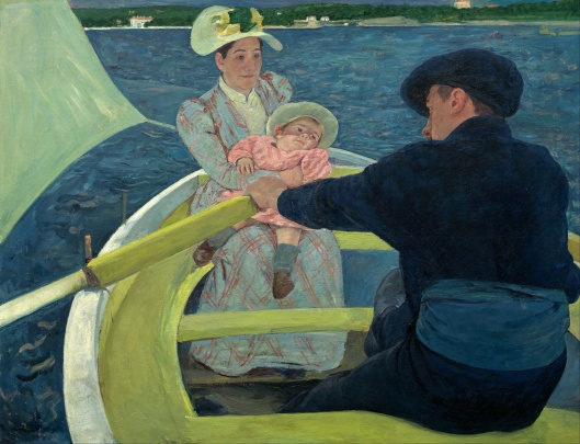 Mary Cassatt - The Boating Party 1893-94 {{PD}}