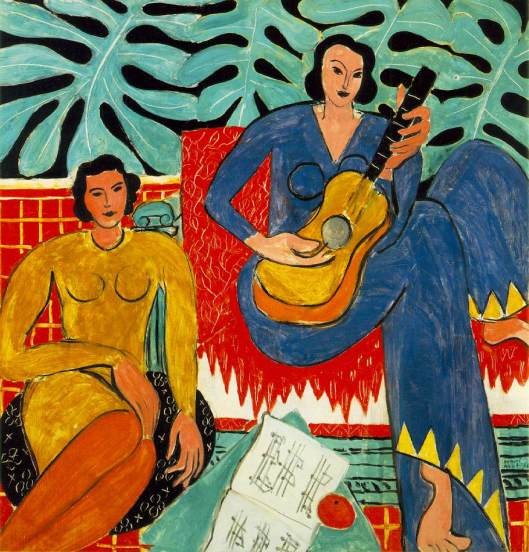 'Music' Matisse {{PD}}