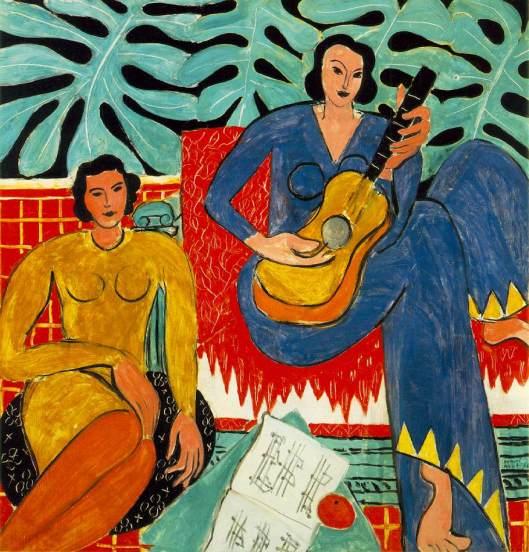 'Music' Matisse {{PD}}