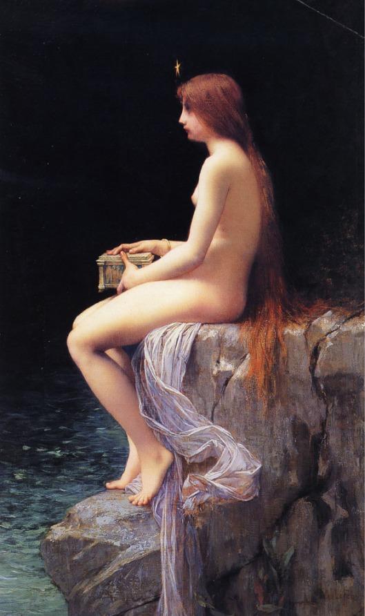 'Pandora' Jules Joseph Lefebvre 1882 {{PD}}