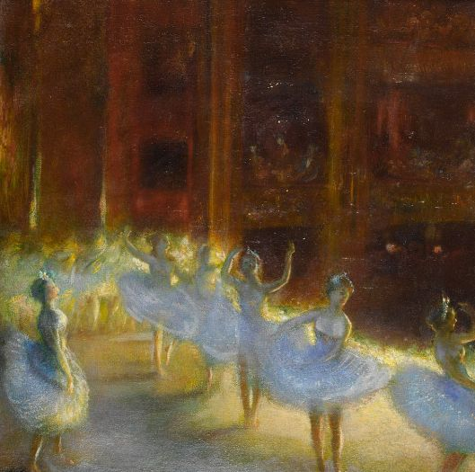 Gaston La Touche Le Ballet c1910 {{PD}}