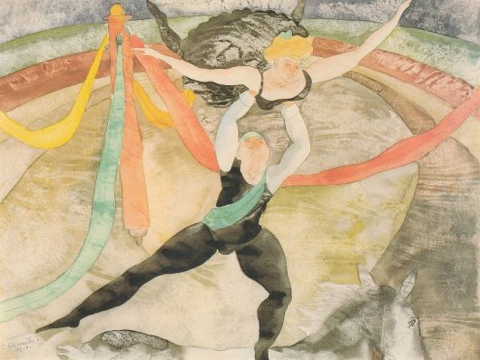 Charles Demuth 'The Circus' (1917) {{PD}}