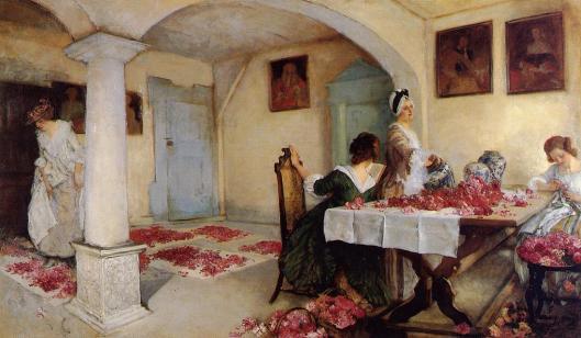 Edwin Austin Abbey,  - 'Potpourri' - 1899 {{PD}}
