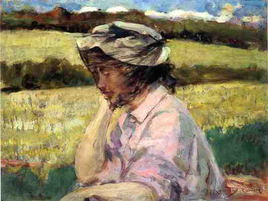 Over-thinking is a distinct possibility. 'Lost in Thought' James Carroll Beckwith 1907 {{PD}}