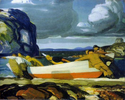 George Bellows - The Big Dory, 1913