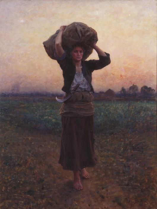 'The Shepherd's Star' Jules Breton 1887 {{PD}}