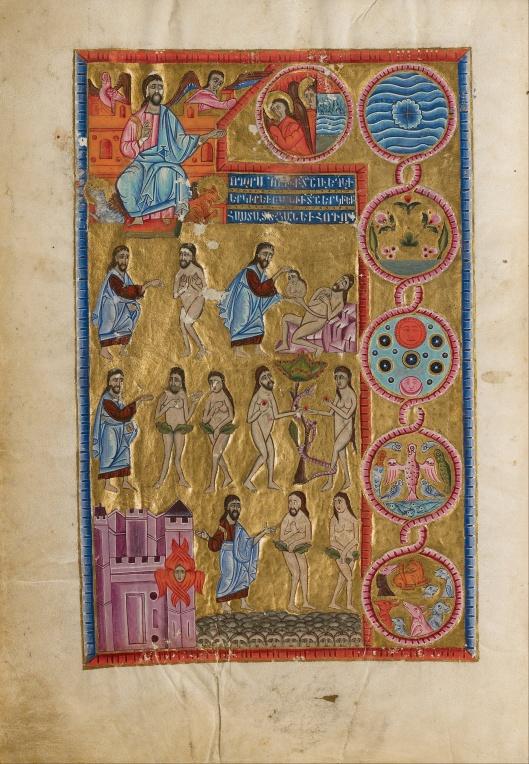 Malnazar, illuminator, 'The Creation of the World' 1637 {{PD}}