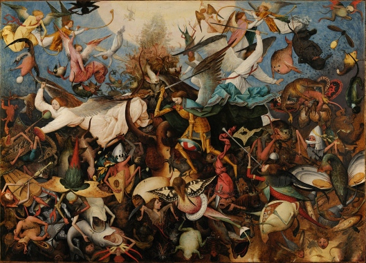 Virgo, this year you ARE a rebel angel! Pieter Bruegel the Elder - 'The Fall of the Rebel Angels' 1562 {{PD}}
