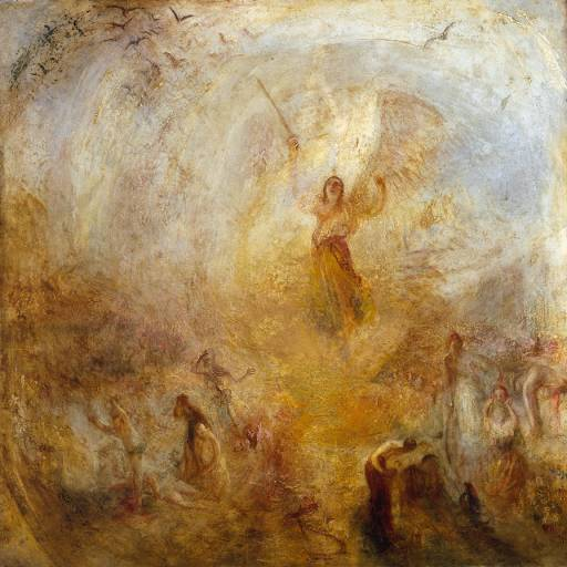 This could be you this coming Solar year, through to your next birthday, Virgo. by William Turner- 'The Angel, Standing in the Sun' 1845 {{PD}}