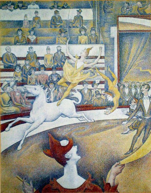 Der Zirkus - Georges Seurat {{PD}}