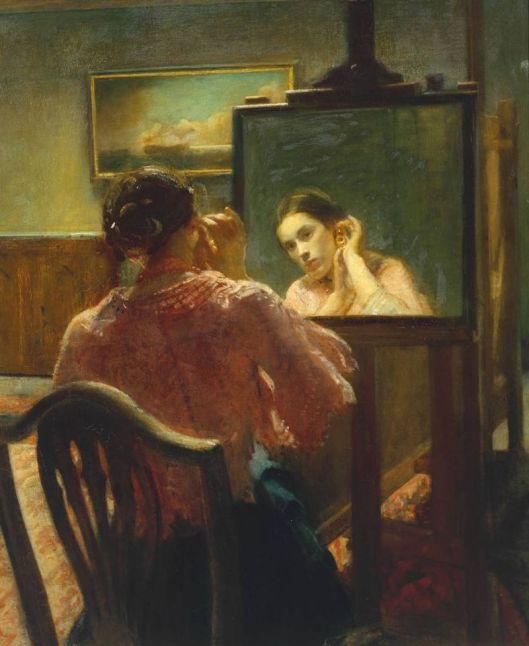 Ambrose McEvoy 'Earring' 1878-1927 {{PD}}