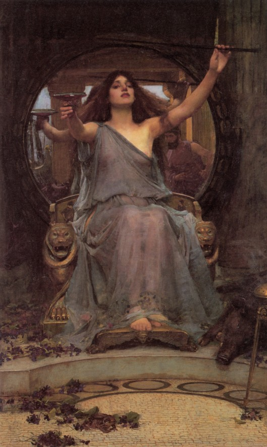 There's nothing wrong with seeing yourself as a goddess, but you don't need to beat everyone else over the head to convince them; when you do, it suggests you don't really believe you are! 'Circe Offering the Cup to Odysseus' JW Waterhouse 1891 {{PD}}