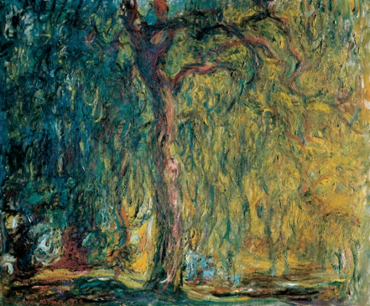 'Weeping Willow' Claude Monet c1919 {{PD}}