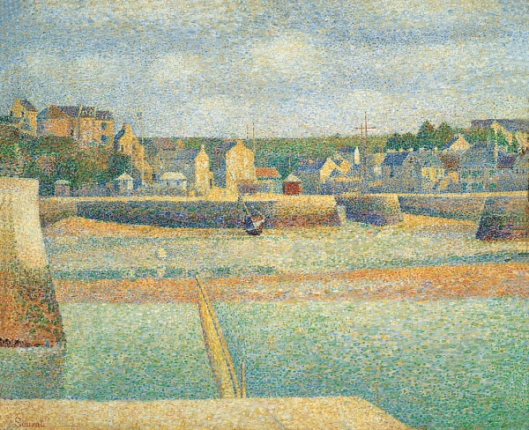 Georges Seurat 'Port-en-Bessin: The Outer Harbor (Low Tide)' 1888