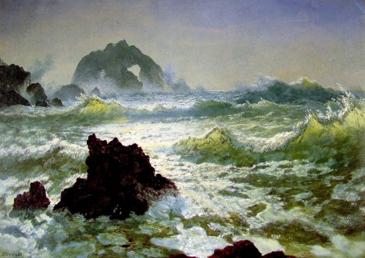'Seal Rock, California' Albert Bierstadt 1872 {{PD}}