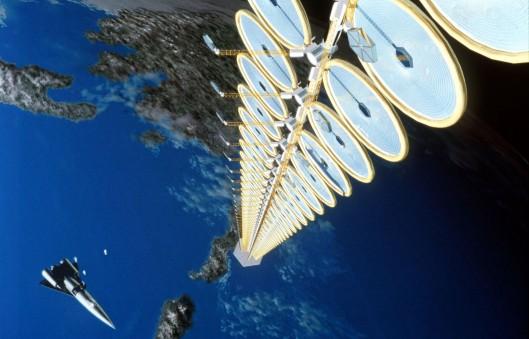 Suntower, concept art, NASA {{PD}}