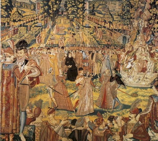 'The Valois Tapestry' c1580 {{PD}}