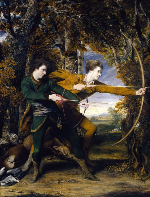 What's an Archer to do? Sir Joshua Reynolds 1768 {{PD}}