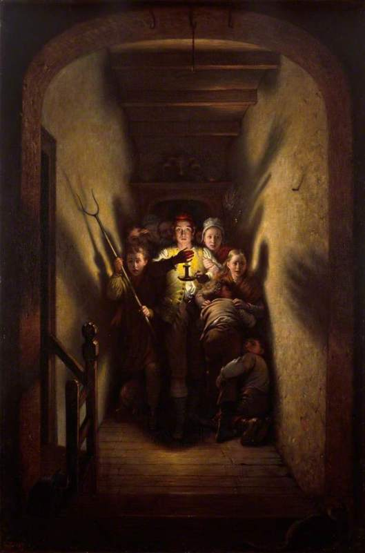 Charles West Cope 'A Night Alarm: The Advance!' 1871