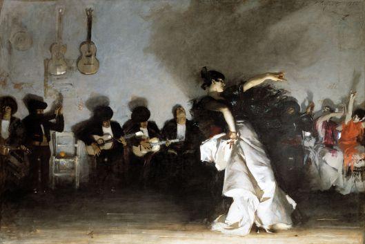 'EL JALEO' John Singer Sargent c1880 {{PD}}