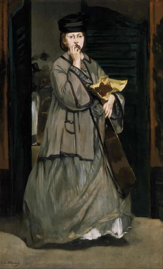 Don't hesitate, Sag, to bring your unique voice to the public sphere. Edouard Manet - 'Street Singer' c1862 {{PD}}