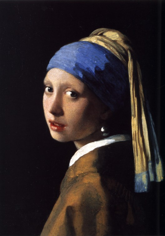 You know it's time to do it, Sag. Johannes Vermeer 'Het meisje met de parel' (Girl with a Pearl Earring) c1665 {{PD}}