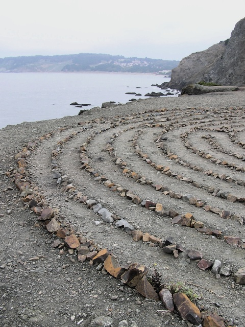 The Land's End Labyrinth (2004), by Eduardo Aguilera Photo by Vards Uzvards Creative Commons Attribution-Share Alike 2.0 Generic