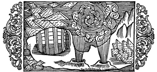 Olaus Magnus - On Whirlpools and the Remarkable Nature of Ice c1555 {{PD}}