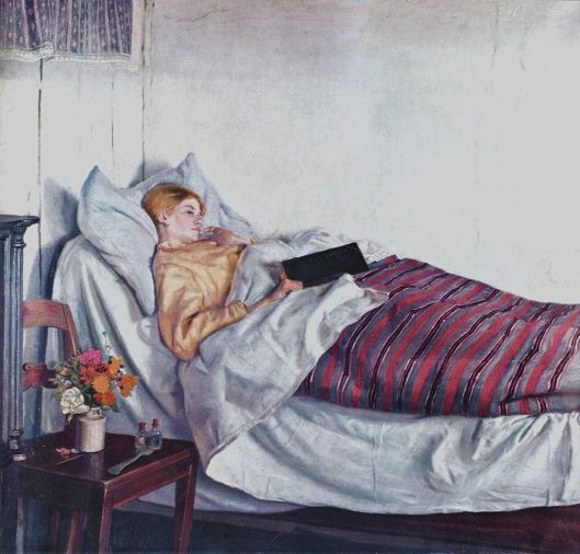 You'll be feeling better in no time, Aquarius, because this year you can heal. Michael Ancher 1881 {{PD}}