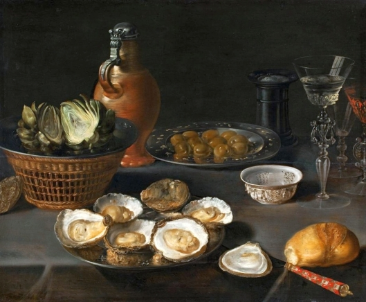 Osias Beert 'Still-Life with Artichokes' 16th century {{PD}}