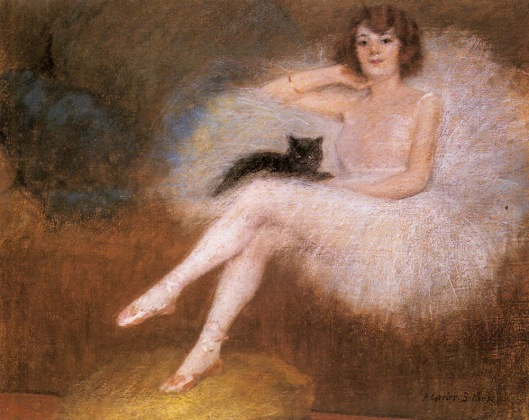 It's time to sort real talents from dreams, Aquarius--and if that means you must pursue your career in dance, so be it! 'Ballerina With A Black Cat' Pierre Carrier-Belleuse {{PD}}