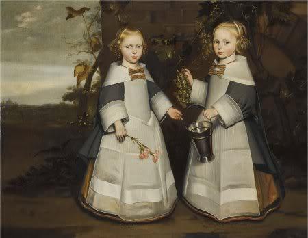 """""""Ætatis Suæ 4 1654 - 7 Octobris. ætatis Suæ 4. 1654 8 Octobris."""" Formerly attributed to Jan Jansz. de Stomme (1615–1657/1658) {{PD}}"""