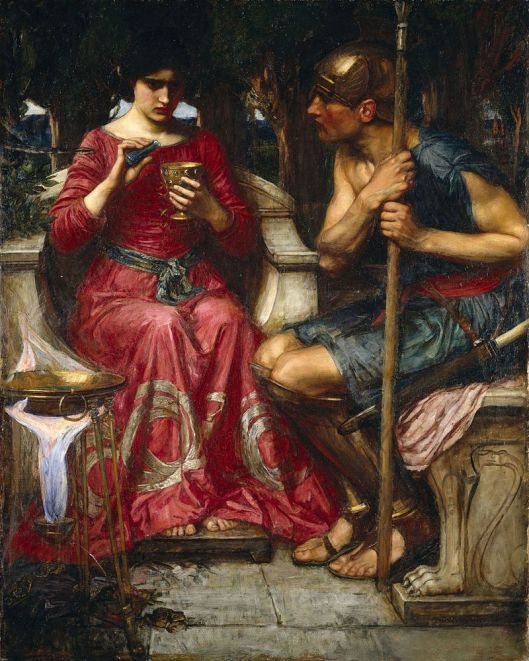 What you choose is up to you, Aquarius. 'Jason and Medea' by John William Waterhouse 1906 {{PD}}