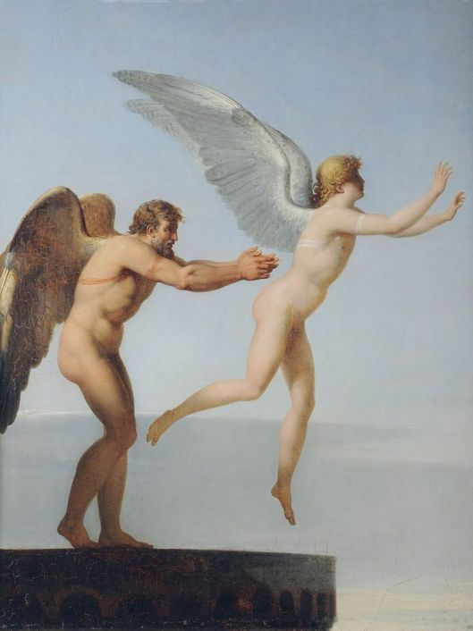 If it's not in line with your Highest Self, it just won't fly, Cappy. Charles Paul Landon-'Icarus and Daedalus' {{PD}}