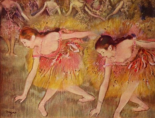 We'll be very aware we're lacking a certain below-the-surface harmony. Edgar Degas - 1885 {{PD}}