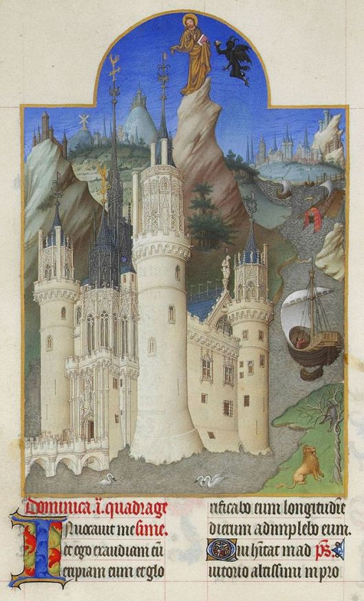 """Everybody has trouble making choices, Aquarius. """"Folio 161v - The Temptation of Christ"""" by Limbourg brothers. Public Domain via Wikimedia Commons - http://commons.wikimedia.org/wiki/File:Folio_161v_-_The_Temptation_of_Christ.jpg#mediaviewer/File:Folio_161v_-_The_Temptation_of_Christ.jpg"""