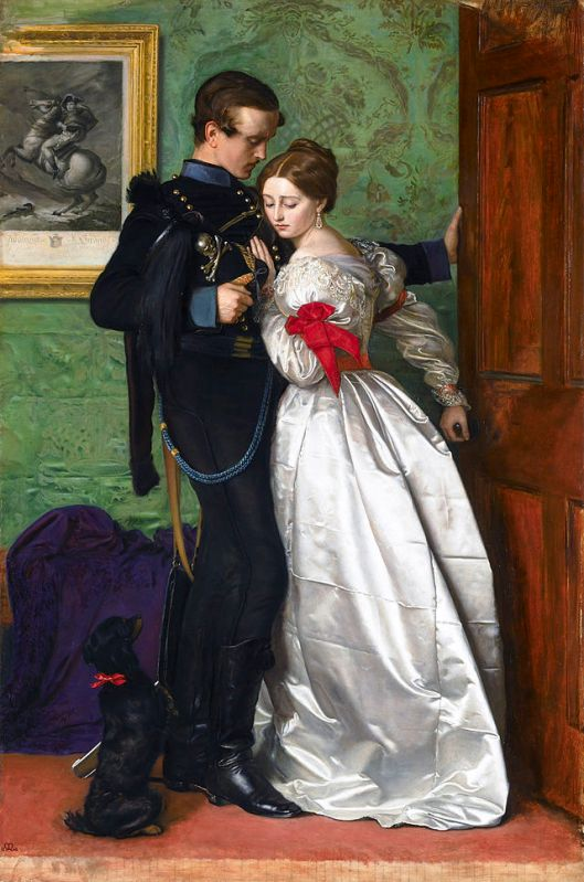 REspect your feelings--it's the only way to know what to accept, and what to walk away from. John Everett Millais The Black Brunswicker 1859 {{PD}}