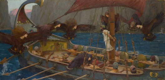 John William Waterhouse - 'Ulysses and the Sirens' 1891 {{PD}}