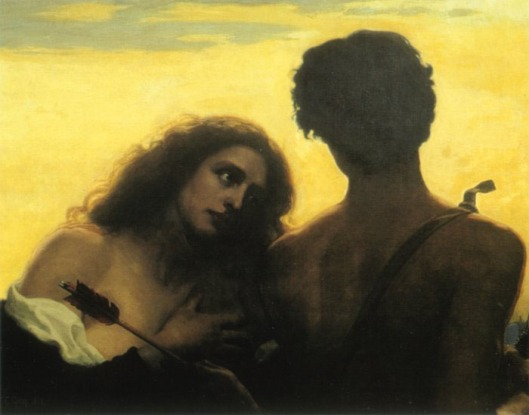 """Monsigneur Love"" by Thomas Cooper Gotch - {{PD}}"