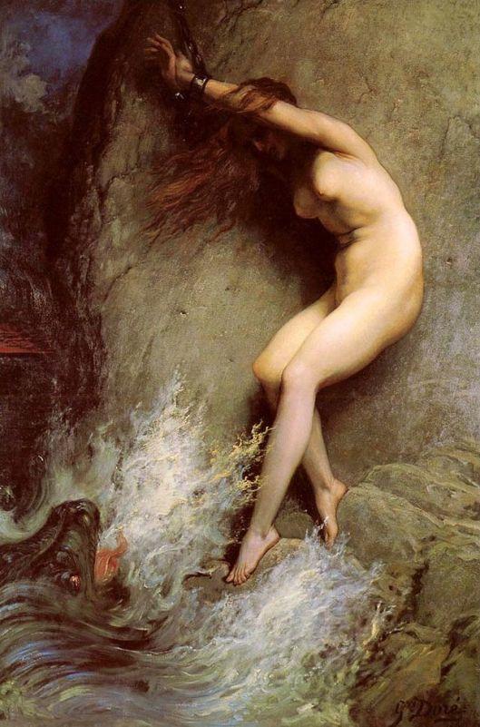 Gustave Doré 'Andromeda' 1869 {{PD}}