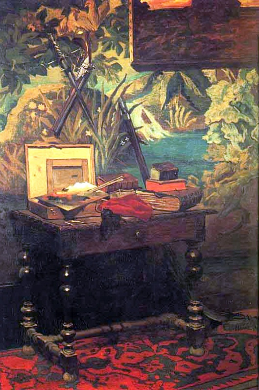 """Coin d'atelier"" by Claude Monet {{PD}}"